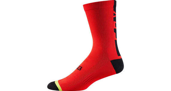 "Fox DH 6"" Socks Men red/black"